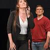 Mezzo-soprano Kate Aldrich is Arden Scott and bass-baritone Michael Mayes is Wendell Swann in San Diego Opera's GREAT SCOTT, 2016. Photo by Karen Almond.