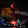 """A scene from """"Rosa Dolorosa, Figlia di Pompei"""" the opera within the opera GREAT SCOTT. Photo by Karen Almond, 2016."""
