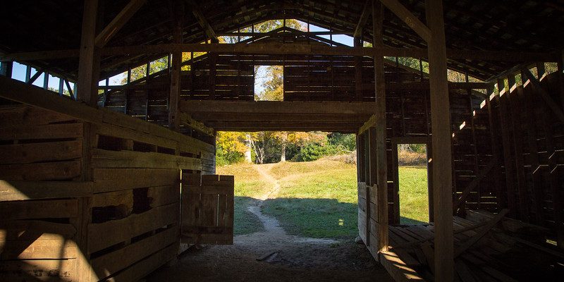 Barn at the Dan Lawson Place, Cades Cove