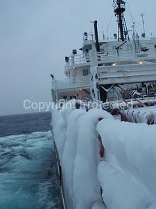 4-Easter Sunday Lake Superior Storm, 04/08/2007; aboard SS Herbert C. Jackson