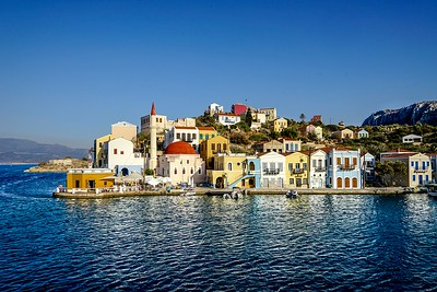 GREECE, KASTELLORIZO (MEGISTI) ISLAND