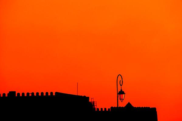 Koules Fort at sunrise