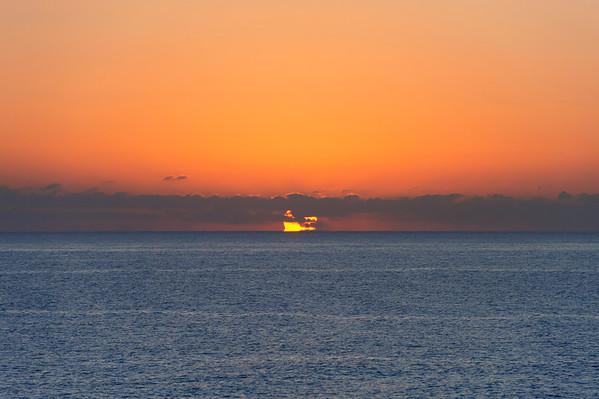 Sunrise from the Alikarnassos shore
