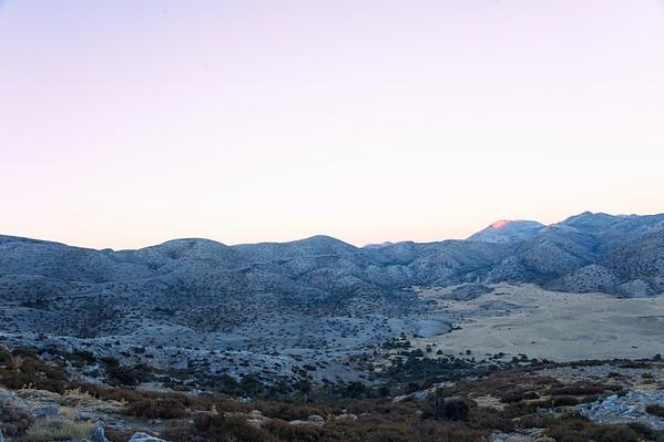 Δειλινό από το Ιδαίον Άντρο - Idaean Cave twilight