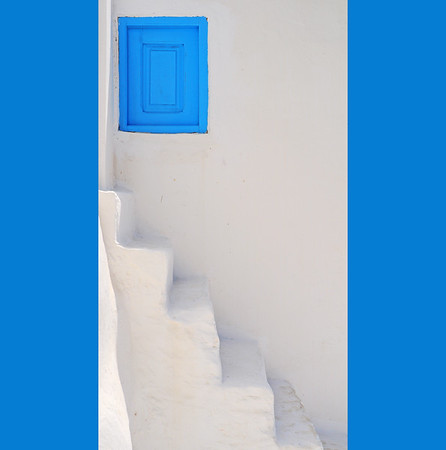 Kassos composition with steps and window
