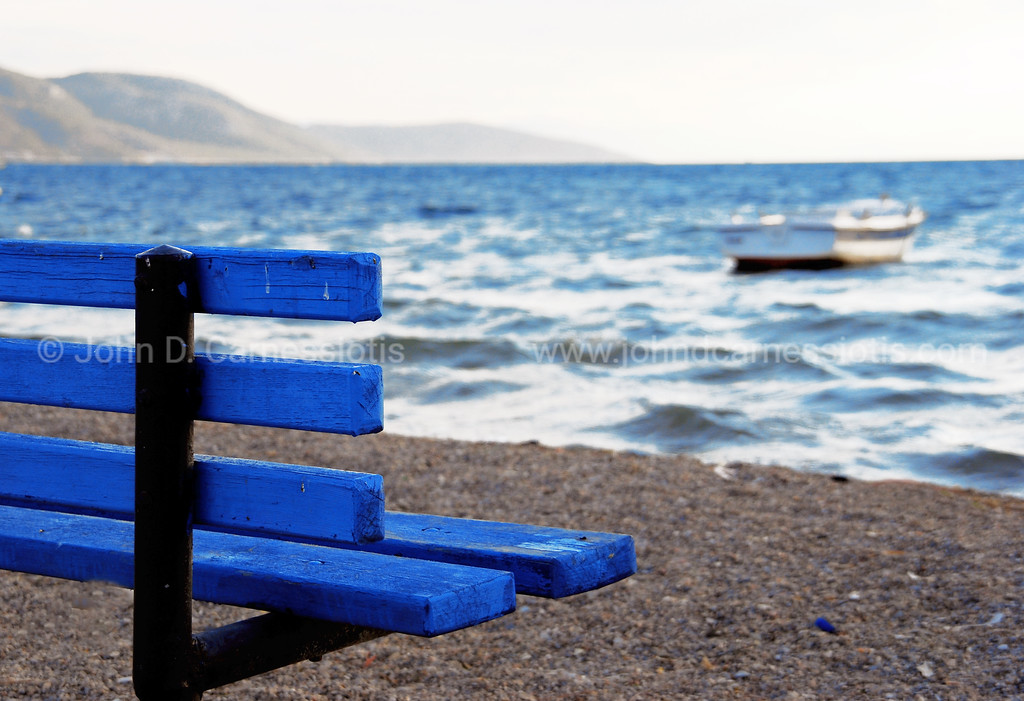 The bench by the sea