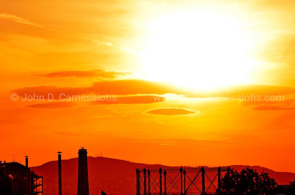 Gazi sunset I