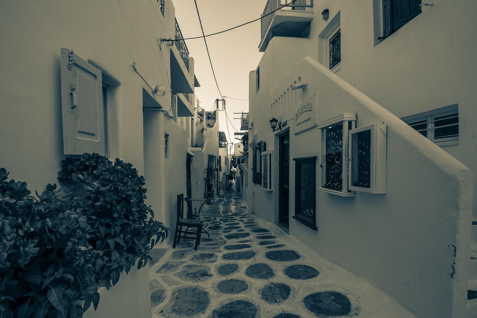 Typical Greek Alley