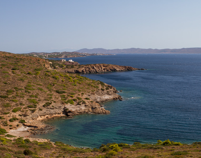 SOUTHERN MOST TIP. Cape Sounion, Greece.