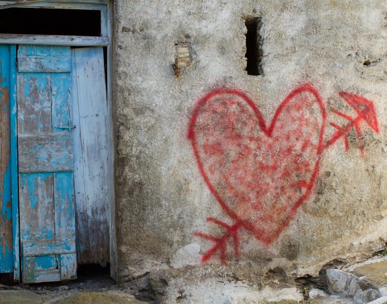 LOVE THIS WAY. Kea, Greece.