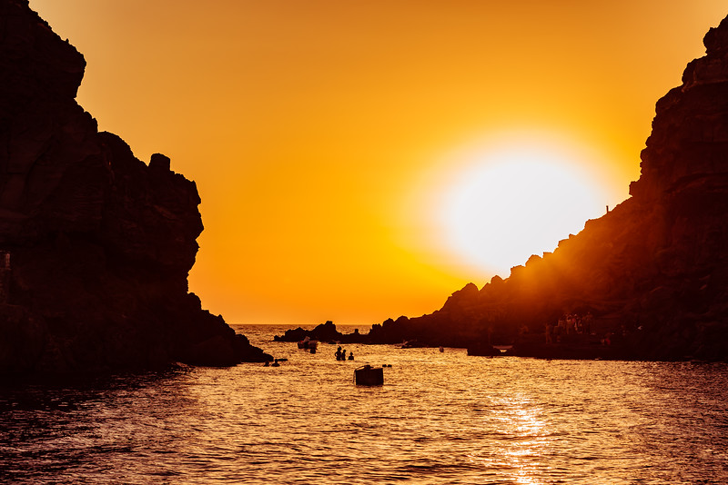 Sunset Near Amoudi bay