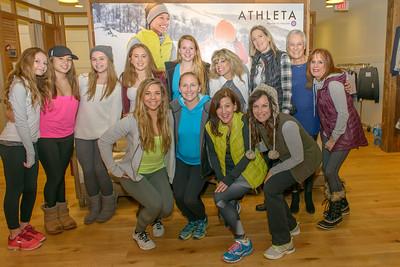 GREEN POINT JUICE  & the ATHLETA Fashion Show