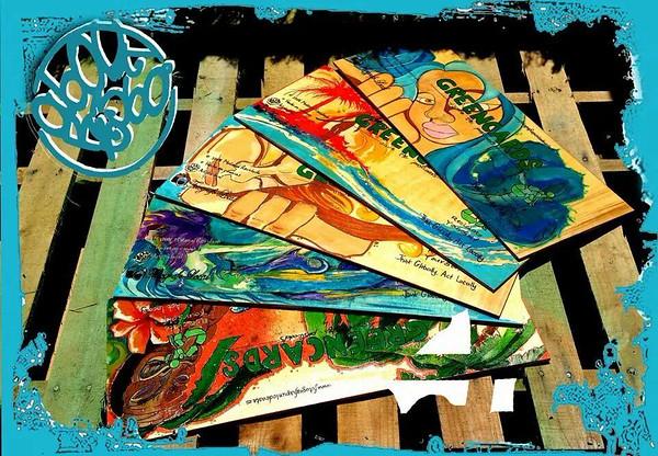 9- Y asi nacio Greencards -Save the Postcards- Gracias por pasar por aqui!