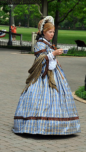 19TH CENTURY LADY