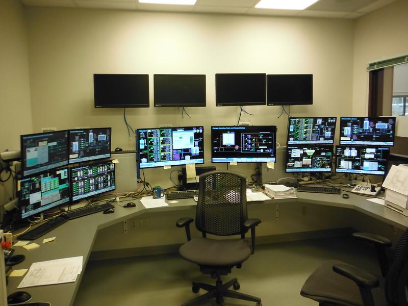 Operator control room