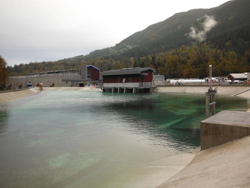 Return water pump station
