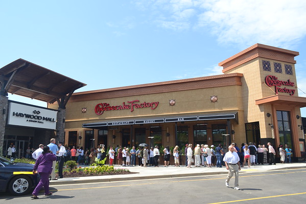 Cheesecake Factory Greenville opening June 2016