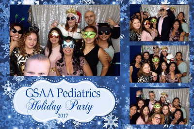 GSAA Pediatrics Holiday Party