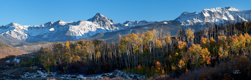 AFTERNOON ON DALLAS DIVIDE - San Juan Mountains, Colorado