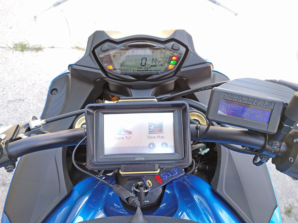 FuelBot: Fuel Gauge and MPG Gauge for the SV650 - Anyone interested