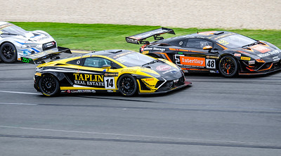 Two Lamborghini Gallardo R-EX, 14 Taplin Motorsport, Andrew Taplin & Dean Canto, 48 M Motorsport, Justin McMillan & G Wood