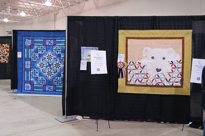 Tim Latimer's original design quilt received two awards and also the number 1 viewers choice.  Congratulations Tim.