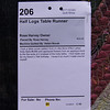 Harvey, Rose Half Logs Table Runner 206a