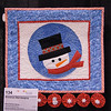 Harvey, Rose Snowman Wall Hanging 134b