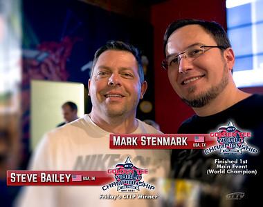 World Champion M.Stenmark with CTTP Event Winner S.Bailey
