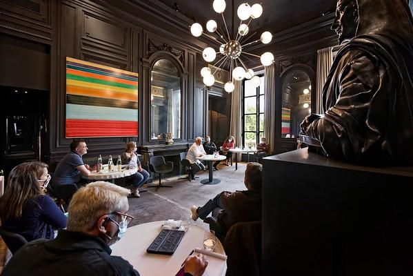 FRANCE. PARIS. GUY SAVOY. LE RESTAURANT TROIS ETOILES DANS L HÔTEL DE LA MONNAIE.