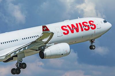 Swiss Airbus A330-343 HB-JHE 5-22-19 2