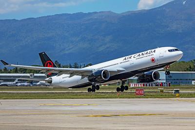 Air Canada Airbus A330-343 C-GFAF 5-22-19