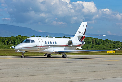 Netjets Europe Cessna 680A Citation Latitude CS-LAU 5-22-19