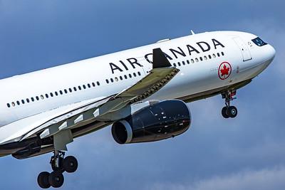 Air Canada Airbus A330-343 C-GFAF 5-22-19 2