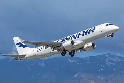 Finnair Embraer ERJ-190-100LR OH-LKR 5-22-19