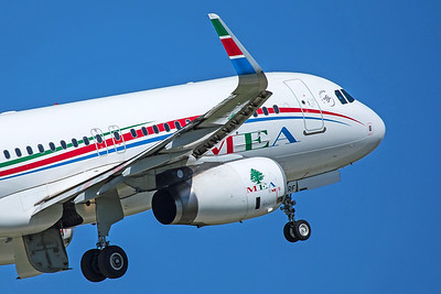 MEA - Middle East Airlines Airbus A320-232 T7-MRF 5-22-19
