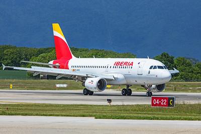 Iberia Airbus A319-111 EC-KKS 5-22-19