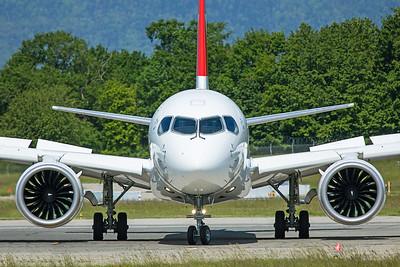Swiss Airbus A220-300 HB-JCT 5-22-19