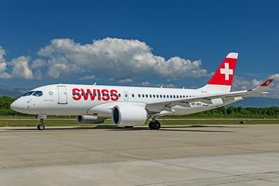 Swiss Airbus A220-100 HB-JBA 5-22-19