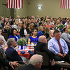 It was a packed house that got to listen to SSgt. Ryan Pitts who was the guest speaker at the GVNA HealthCare 7th Annual Executive Leadership Breakfast at Great Wolf Lodge on Thursday morning in Fitchburg. SENTINEL & ENTERPRISE/JOHN LOVE