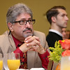 Fitchburg Mayor Stephen DiNatale listens to Dan Schawbel the guest speaker at the Gardner Visiting Nurses Associations 8th Annual Executive Leadership Breakfast at Great Wolf Lodge New England on Thursday, October 19, 2017. SENTINEL & ENTERPRISE/JOHN LOVE