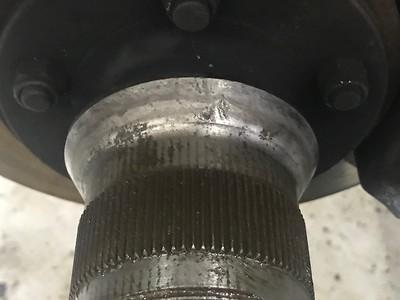 Worn hub mating cone