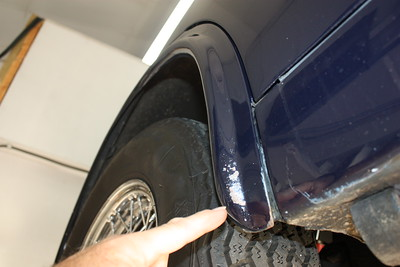 Stone damage on RH spat