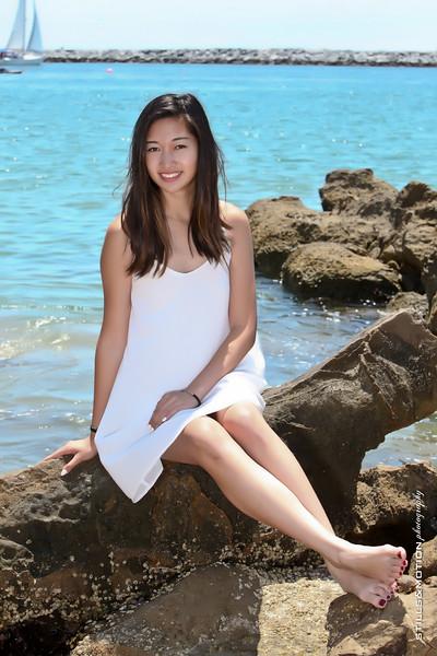 GWEN AT THE BEACH