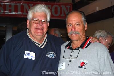 John LeTourneau & Willie Durkin '65