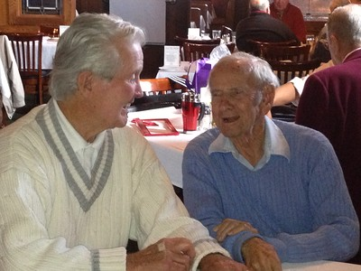 "Jack Hafner and Morris ""Mushy"" Silver, Nov. 8, 2012."