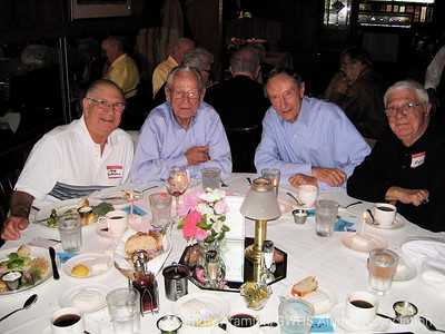Pete Constantine, Charlie Zink, Ed Slade and Ross Giudice celebrating their birthdays, Aug. 14, 2008.