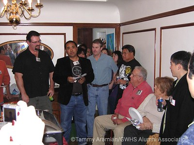 Bryan, Paul, Alan, Dan Yee, Al and Lorraine Vidal