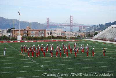 GWHS Marching Band debut
