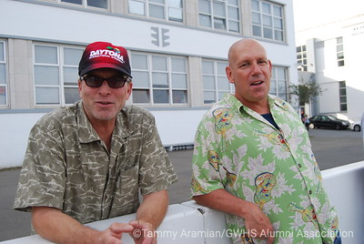 Paul Koski and Ed Ruppenstein '74